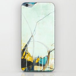 October - Square Abstarct Expressionism iPhone Skin