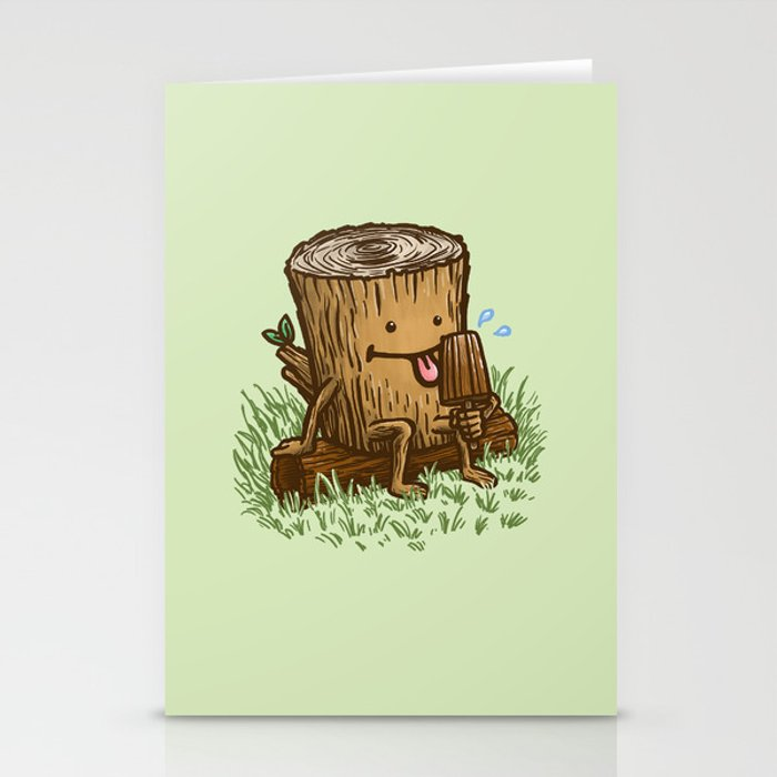 The Popsicle Log Stationery Cards