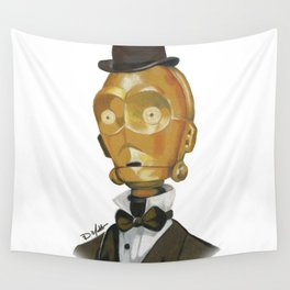Sir C3PO Wall Tapestry