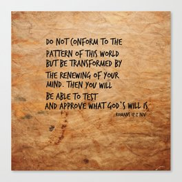 Romans 8:2 Canvas Print