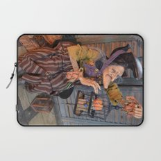 Rucus Studio Maddie the Eccentric Witch Laptop Sleeve