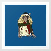et Art Prints featuring ET by V.L4B