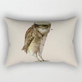 trendy owl Rectangular Pillow