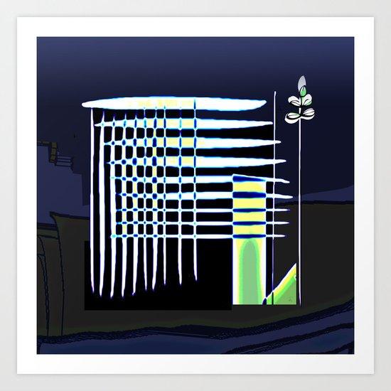 Mi Casa / House 28-09-16 Art Print