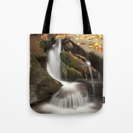 Crescent Crater Falls Tote Bag