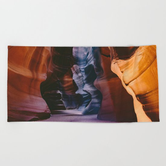 Slot Canyon Beach Towel