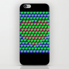 E-MOTION: Moving hearts iPhone & iPod Skin
