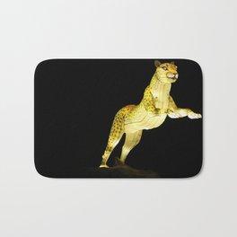 Christmas At The Living Desert Zoo - Cheetah Pounce Bath Mat
