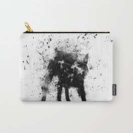 wet dog Carry-All Pouch