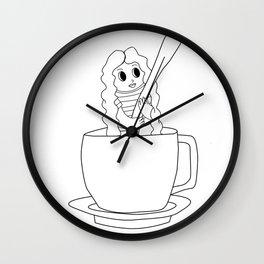 Biondina Caffè Wall Clock