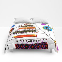 just some friends of mine Comforters