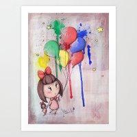 Line Matita' s Art (fly) Art Print