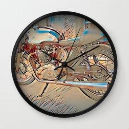 Vintage Triton Cafe Racer - Circa 1952 Wall Clock