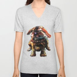 Magic Rabbit Unisex V-Neck