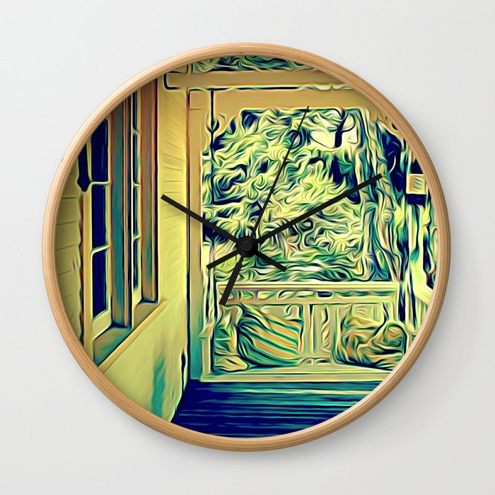 Meet Me Here Wall Clock