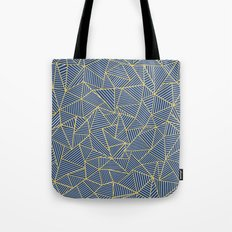 Ab Out Double R Navy Tote Bag