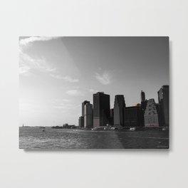 Manhattan Coast Metal Print