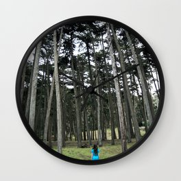 """Through the Woods"" Wall Clock"