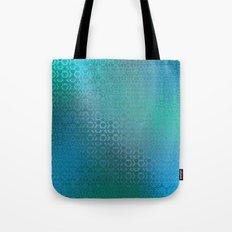 Trinity Pattern (ocean blues) Tote Bag