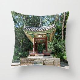 Taegeukjeong of the Secret Garden_Changdeokgung Palace Throw Pillow