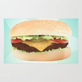 Hamburger Rug