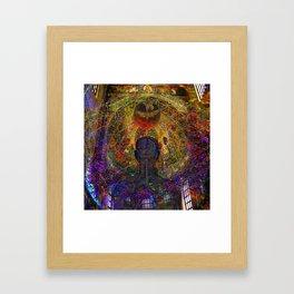 Solar Crown Chakra Framed Art Print