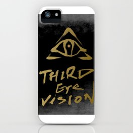 3rd eye vision - inspired by Nike's concept on Kyrie 5 basketball sneaker iPhone Case