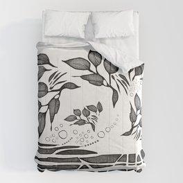 Garden Shadows Comforters