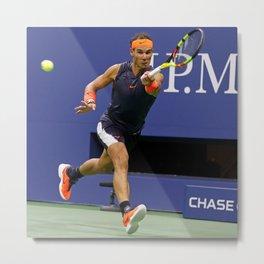 "Rafael ""Rafa"" Nadal Parera - Association of Tennis Professionals - Balearic Islands - Spain 12 Metal Print"