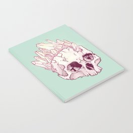 Skull No.2 // The Cristallized One Notebook