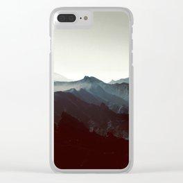 Montañas de Anaga Clear iPhone Case