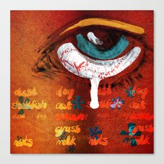 Allergic Canvas Print