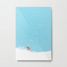 Snow_04 Metal Print