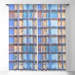 Block Living Sheer Curtain