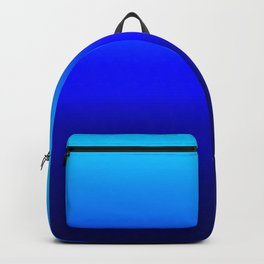 Blue Ombré Backpack