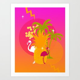 Verano del Sur Art Print