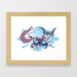 Vulpine mount Framed Art Print