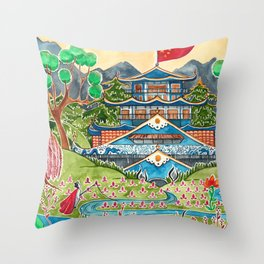 The Nightingale Series - 1 of 8 Throw Pillow