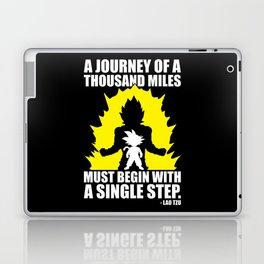 A Journey Of A Thousand Miles (Goku) Laptop & iPad Skin