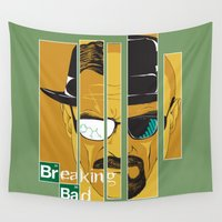 breaking bad Wall Tapestries featuring Breaking Bad by I.Nova