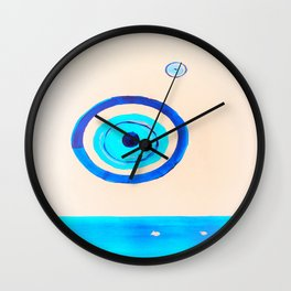 the ocean eye  2 Wall Clock