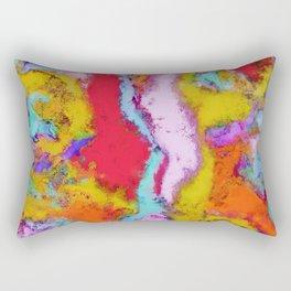 Colour aftershock Rectangular Pillow