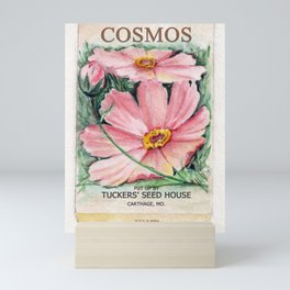 Cosmos Seed Packet Mini Art Print