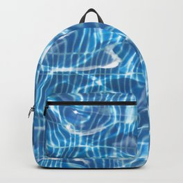 Abstract Water Pool Backpack