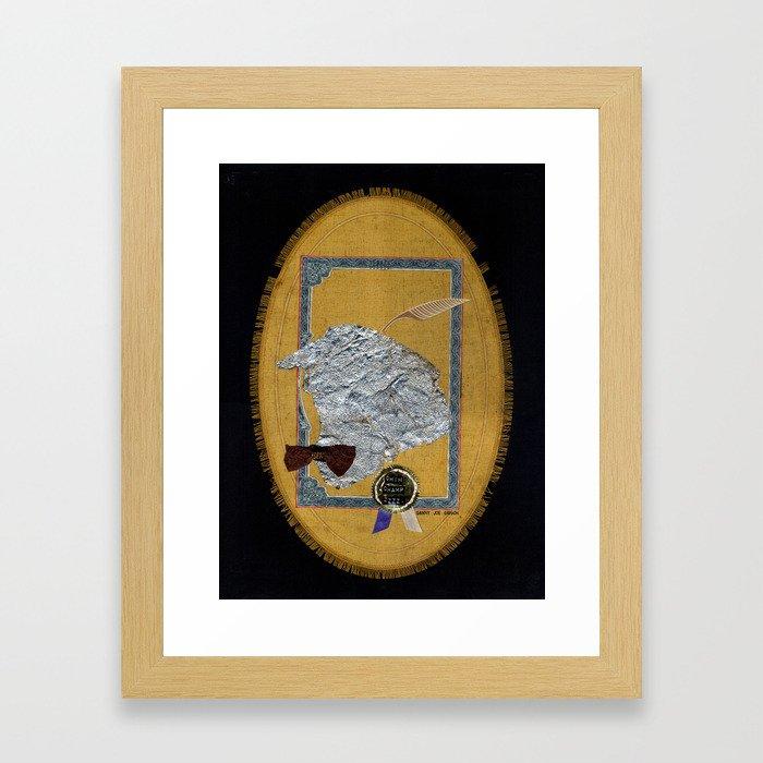 Chim Champ Zzzz Framed Art Print