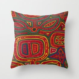 Kunas artwork Throw Pillow