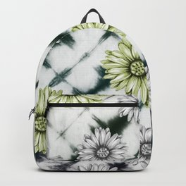 Green Daisies Smile Backpack