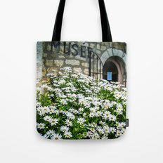 Museum & wild flowers - France Tote Bag