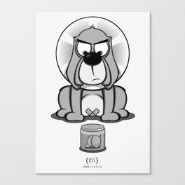 Critter Alliance - Bad Dog Canvas Print