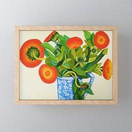 Marigolds Framed Mini Art Print